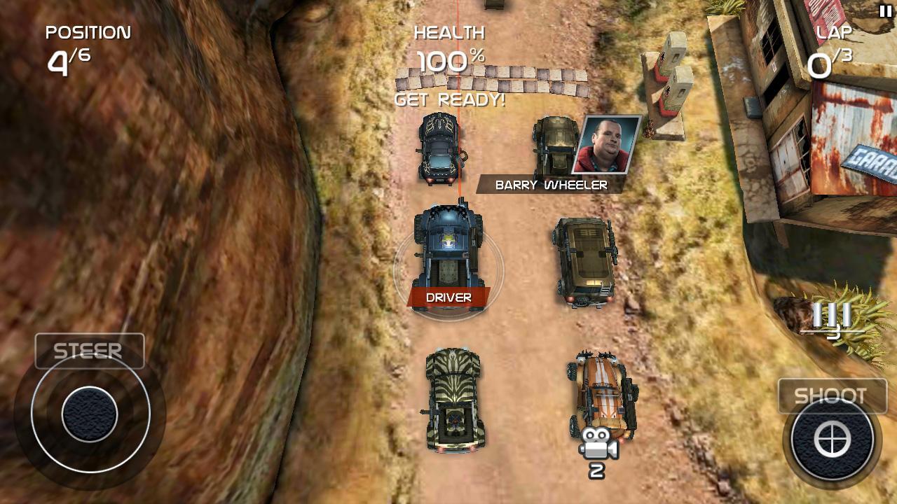 Death Rally FREE screenshot 1