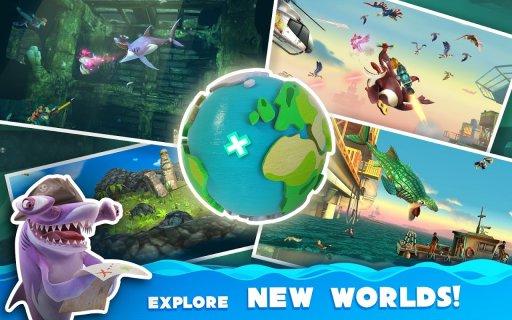 Hungry Shark World screenshot 21