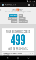 Android System WebView Screen