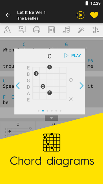 Guitar guitar tabs on screen : Ultimate Guitar Tabs & Chords | Download APK for Android - Aptoide