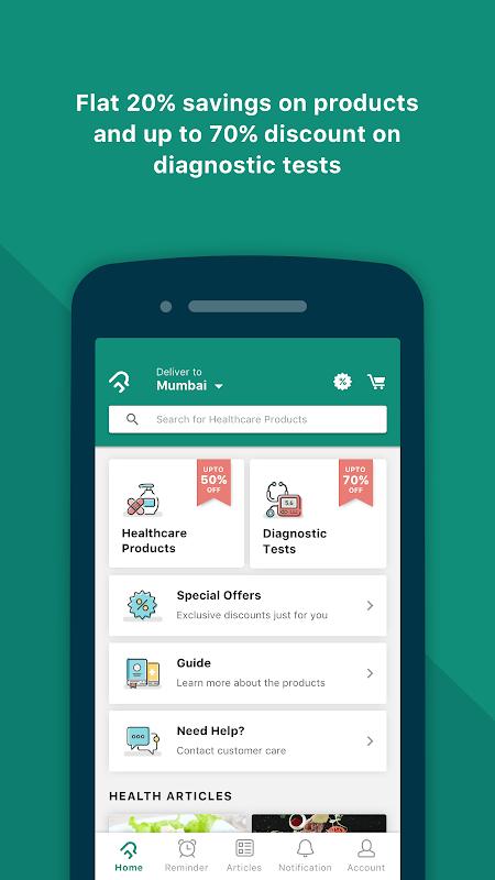 PharmEasy – Online Medicine Ordering App screenshot 1