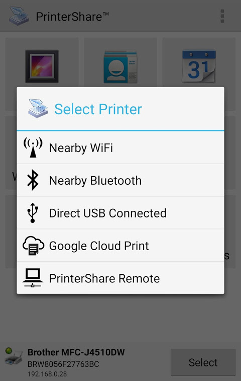 Mobile Print - PrinterShare screenshot 2