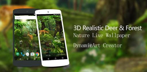 3D Deer-Nature Live Wallpaper 1.6.8
