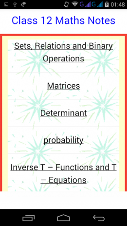 Class 12 Maths Notes 7 4 Download APK for Android - Aptoide