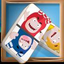 Oddbods Dominoes: fun twist game of domino