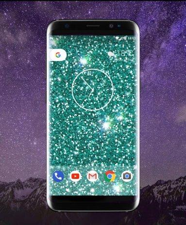 Glitzy Real Glitter Live Wallpaper Screenshot 4
