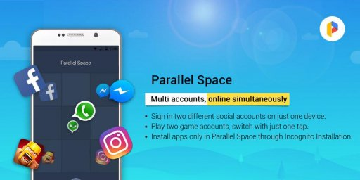 Parallel Space - Multiple accounts & Two face screenshot 2