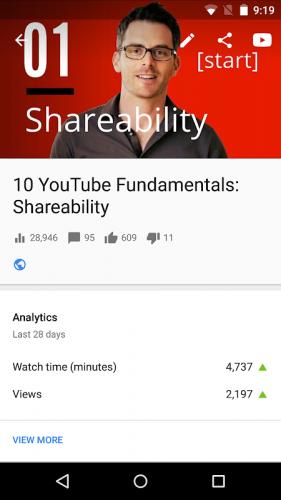 YouTubeStudio screenshot 4