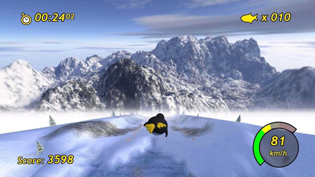 Tux Racer screenshot 2