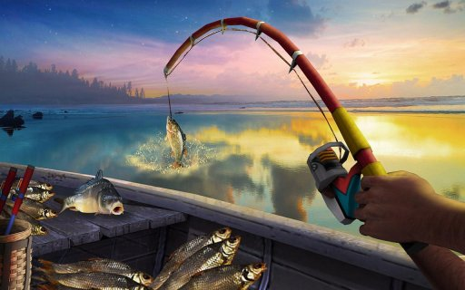 Reel Fishing Simulator 2018 - Ace Fishing screenshot 9