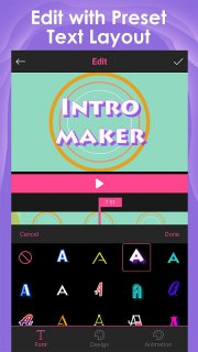 Intro Maker for YouTube - music intro video editor screenshot 2