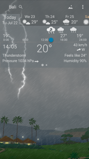 YoWindow Weather screenshot 8