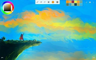 Infinite Painter Screen